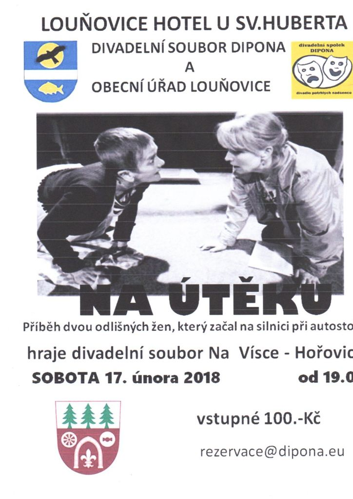 Program divadla listopad