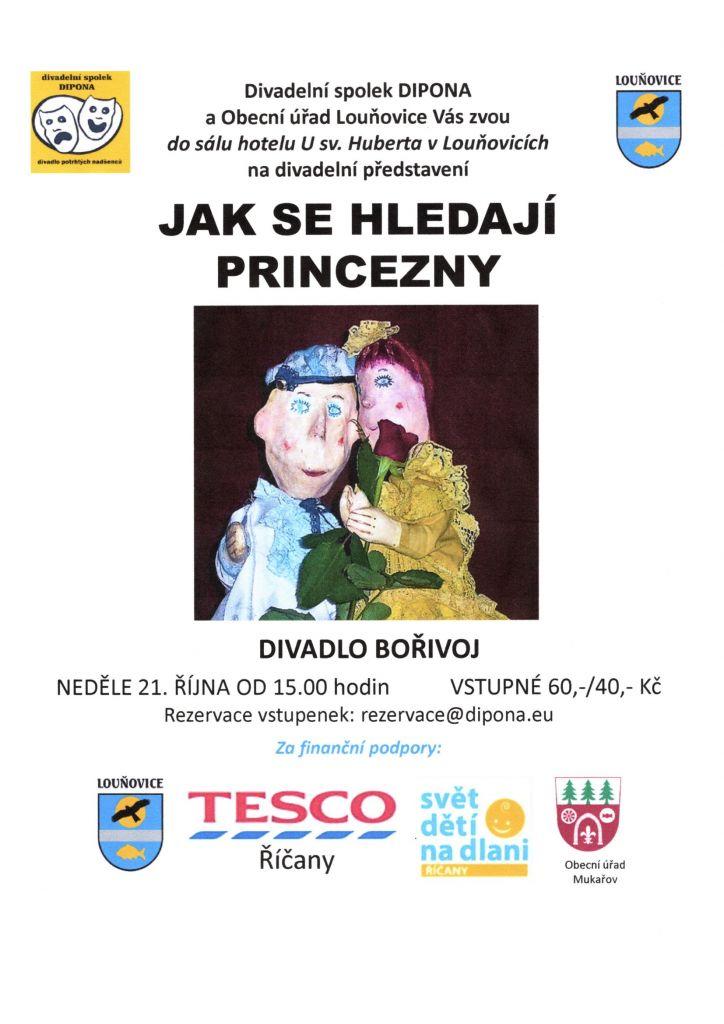 Divadelní představení pro děti - Jak se hledají princezny
